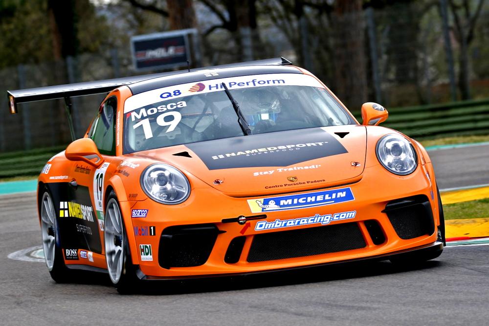 Tommaso Mosca, altro pilota Carrera Cup Italia alla eRace 4 Care!